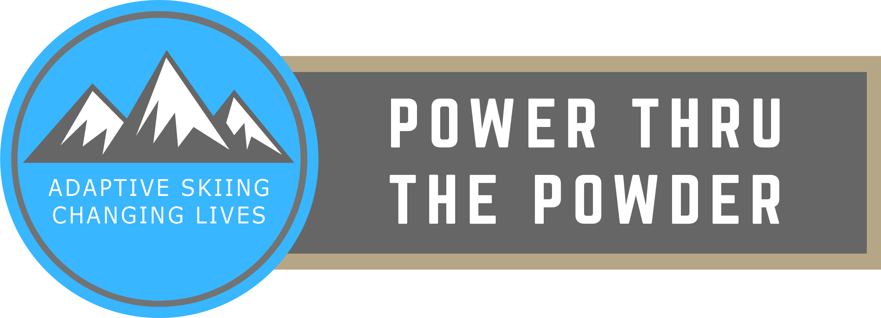 Power Thru The Powder logo